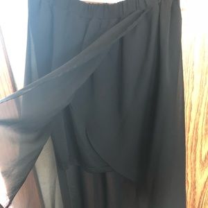 H&M Hi-Low Skirt